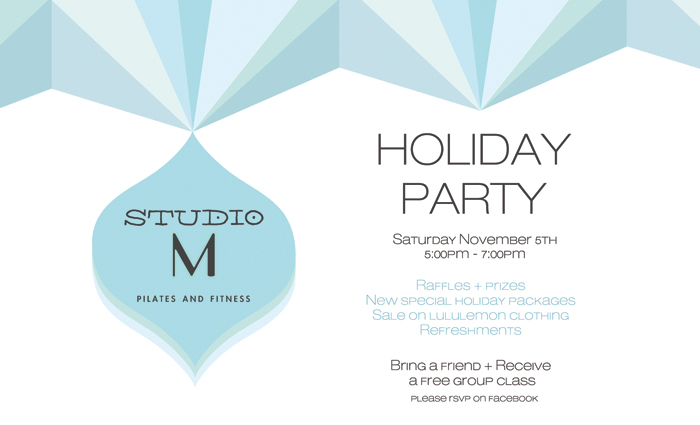 Studio M Holiday Party